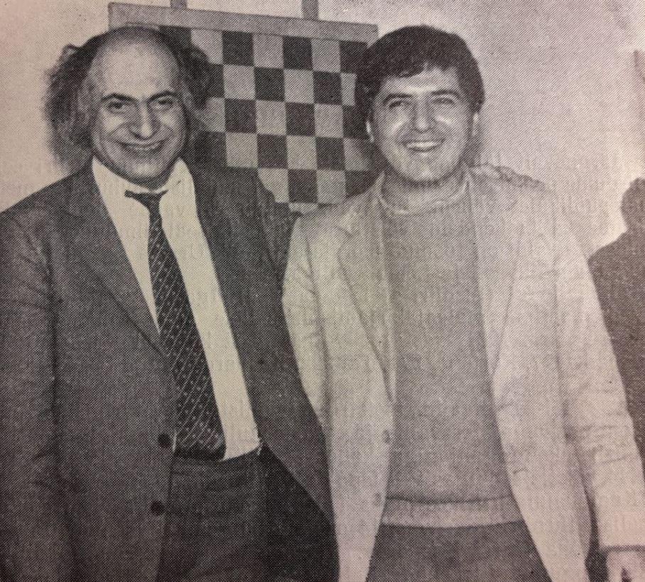 9ff82bed269 Mihhail Tal ja Rafael Vaganjan – turniiri Tallinn 1983 võitjad.